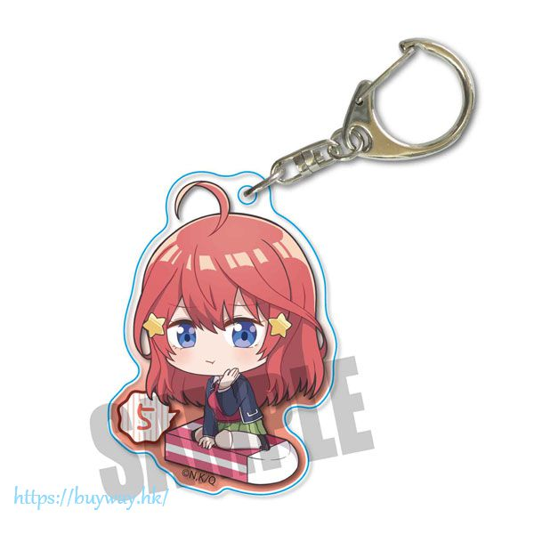 五等分的新娘 「中野五月」坐上橡皮擦 亞克力匙扣 Nayamun Acrylic Key Chain Itsuki Nakano【The Quintessential Quintuplets】