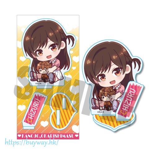 出租女友 「水原千鶴」A款 抱著和也 亞克力企牌 GyuGyutto Acrylic Figure Chizuru A【Rent-A-Girlfriend】