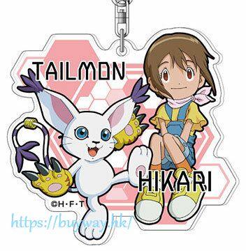 數碼暴龍系列 「八神光 + 迪路獸」亞克力匙扣 Acrylic Key Chain 08 Hikari & Tailmon AK【Digimon】
