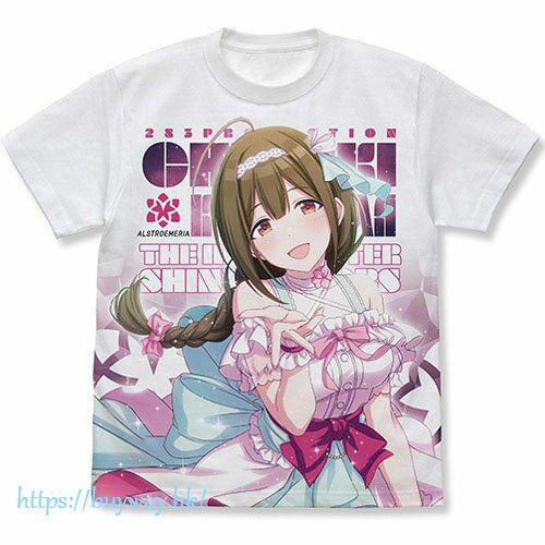 偶像大師 閃耀色彩 (加大)「桑山千雪」全彩 白色 T-Shirt Chiyuki Kuwayama Full Graphic T-Shirt /WHITE-XL【The Idolm@ster Shiny Colors】