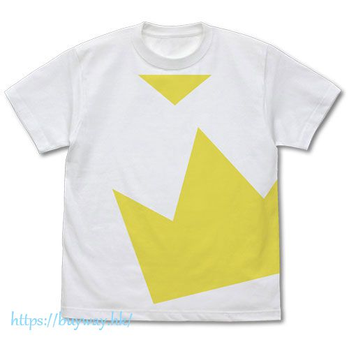 遊戲王 (加大)「王道遊我」白色 T-Shirt Yuga Oudou T-Shirt /WHITE-XL【Yu-Gi-Oh!】