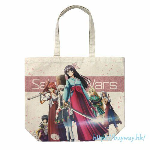 櫻花大戰 「天宮櫻」大容量 米白 袋子 Anime Ver. Project Sakura Wars Full Graphic Large Tote Bag /NATURAL【Sakura Wars】