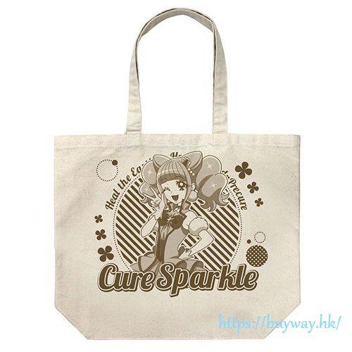 光之美少女系列 「平光日向  閃爍天使」大容量 米白 袋子 Cure Sparkle Large Tote Bag /NATURAL【Pretty Cure Series】