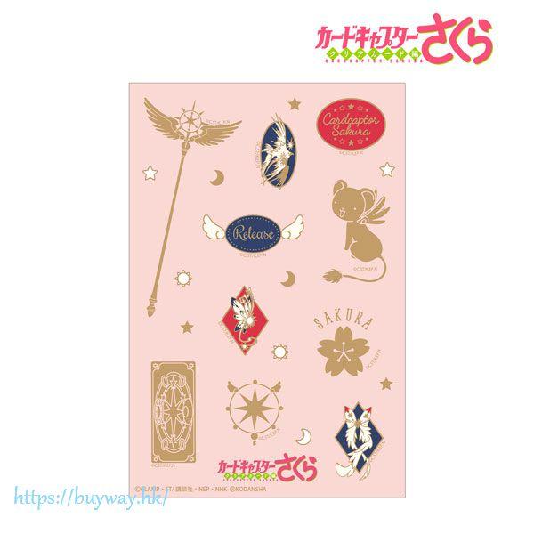 百變小櫻 Magic 咭 貼紙 Motif Sticker【Cardcaptor Sakura】