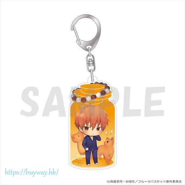 生肖奇緣 「草摩夾」瓶子 亞克力匙扣 CharaToria Key Chain Soma Kyo【Fruits Basket】