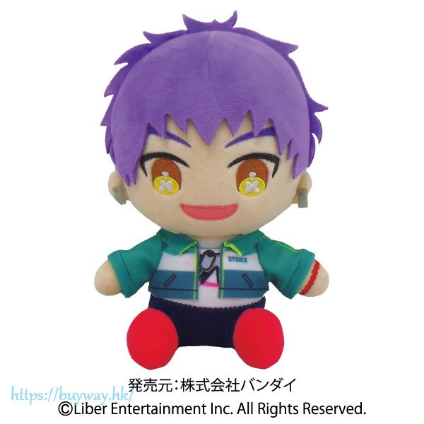 A3! 「兵頭九門」(新劇團員) -夏組- 坐著公仔 (New Troupe Member) Mankai Plush -Summer Troupe- Hyodo Kumon【A3!】