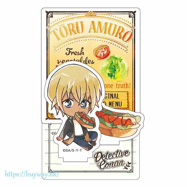 名偵探柯南 「安室透」吃快餐SD 亞克力企牌 Diorama Acrylic Stand Amuro Junk SD【Detective Conan】
