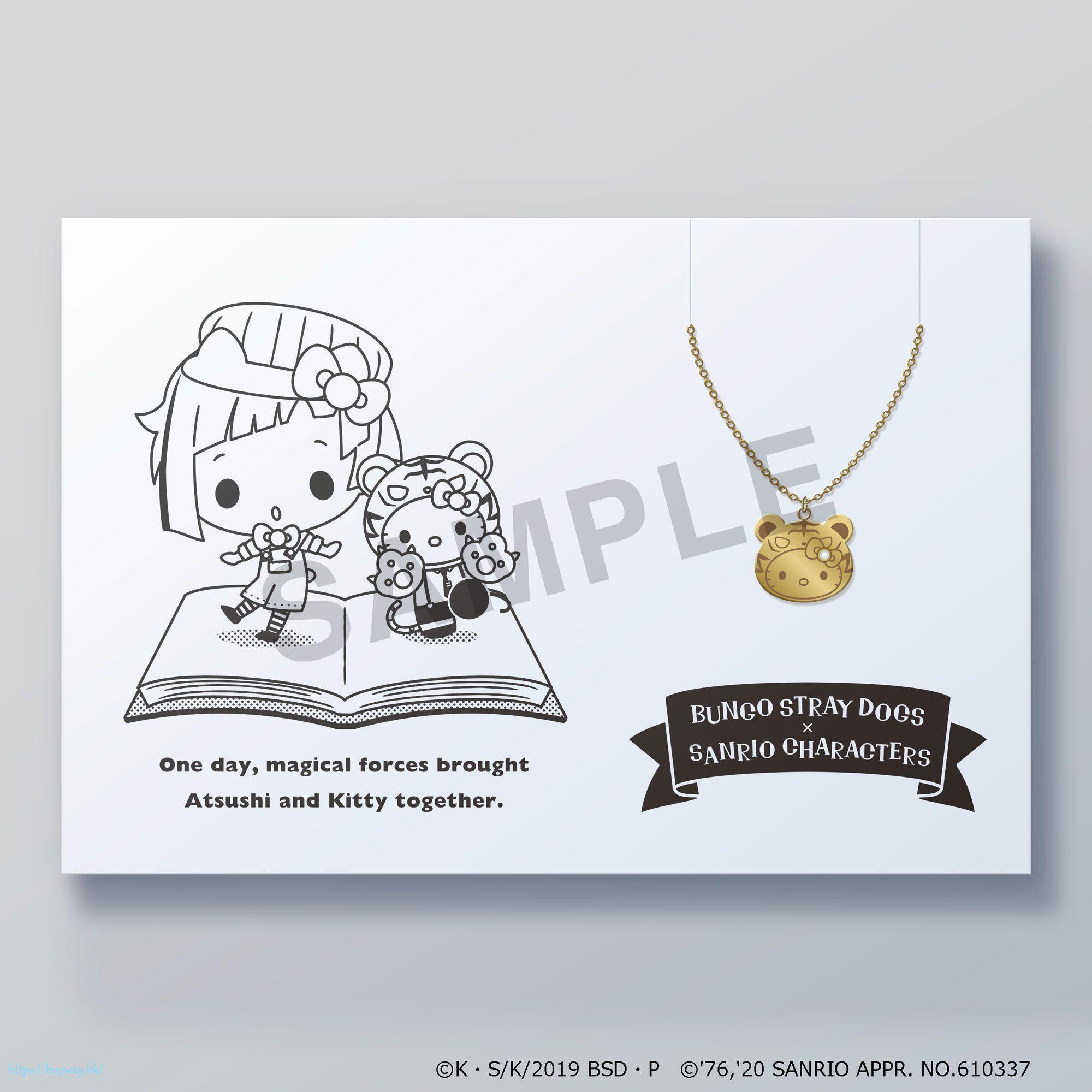 文豪 Stray Dogs 「Hello Kitty + 中島敦」Sanrio系列 頸鏈 Sanrio Characters 5108(Kotoba) Necklace Nakajima Atsushi x Hello Kitty【Bungo Stray Dogs】