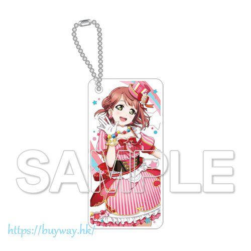 LoveLive! 虹咲學園校園偶像同好會 「上原歩夢」A・ZU・NA 透明亞克力匙扣 Chara Clear Uehara Ayumu Acrylic Key Chain A ZU NA【Love Live! School Idol Festival Perfect Dream Project】