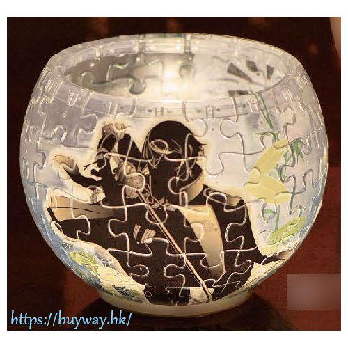 刀劍亂舞-ONLINE- 「髭切」桌燈砌圖 80塊 Lamp Shade Puzzle Higekiri 80pcs (2201-36)【Touken Ranbu -ONLINE-】