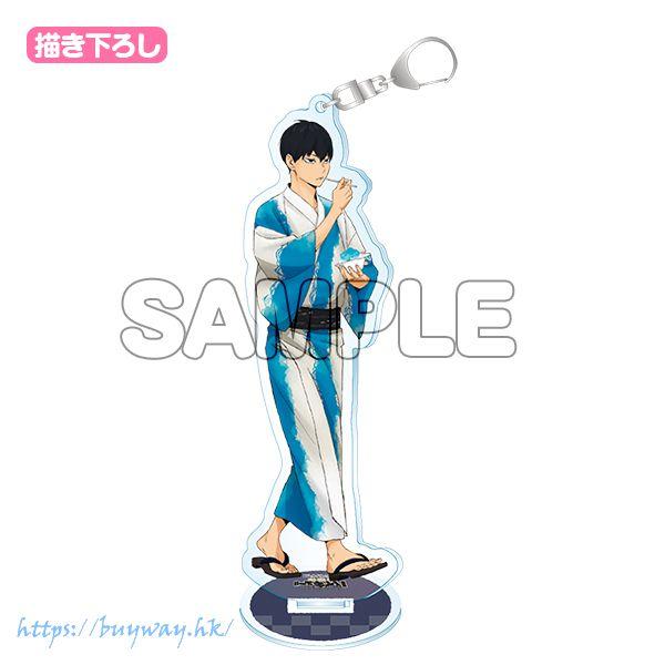 排球少年!! 「影山飛雄」縁日 Ver. 亞克力匙扣 (附台座) Acrylic Keychain with Stand Kageyama Tobio【Haikyu!!】