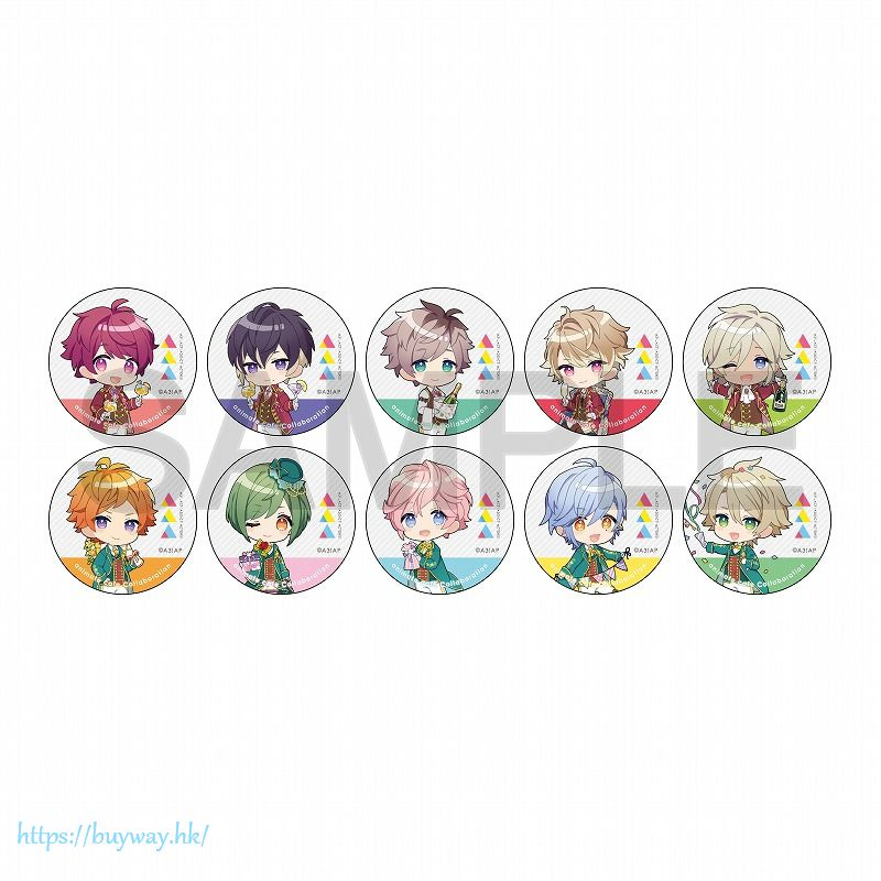 A3! 「春組 + 夏組」動畫 Ver. 收藏徽章 (隨機 10 個入) Can Badge TV Anime ver. (Spring/Summer) (10 Pieces)【A3!】