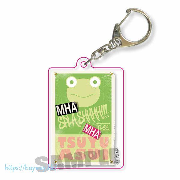 我的英雄學院 「蛙吹梅雨」彷舊招牌匙扣 Retro Sign Keychain Tsuyu Asui【My Hero Academia】