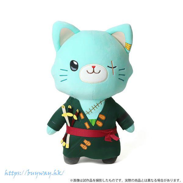 海賊王 「羅羅亞」withCAT 30cm 大公仔 withCAT Plush BIG Size w/Eye Mask Zoro【One Piece】