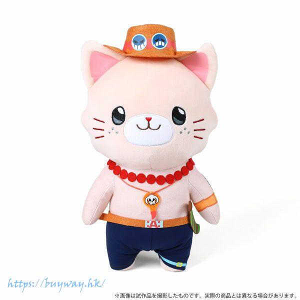 海賊王 「艾斯」withCAT 30cm 大公仔 withCAT Plush BIG Size w/Eye Mask Ace【One Piece】