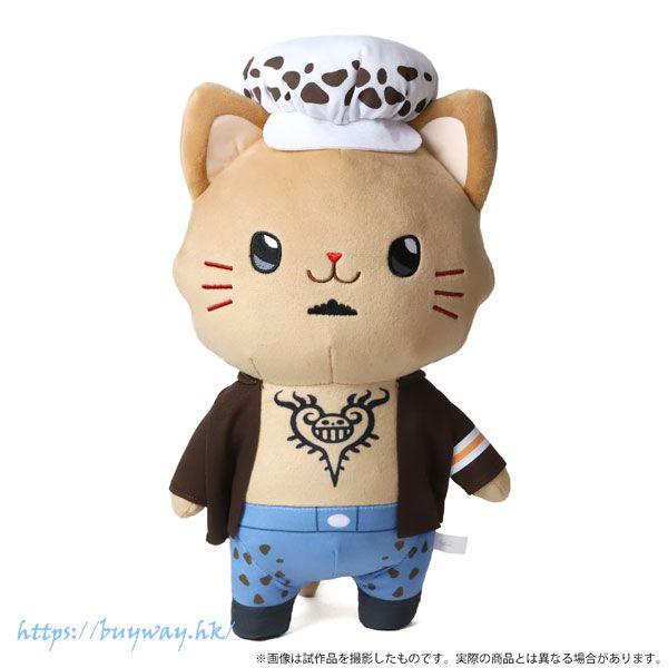 海賊王 「特拉法爾嘉」withCAT 30cm 大公仔 withCAT Plush BIG Size w/Eye Mask Law【One Piece】