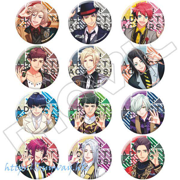 A3! 「秋組 + 冬組」收藏徽章 開花の祝宴 (12 個入) Can Badge Kaika no Shukuen Autumn & Winter Group (12 Pieces)【A3!】