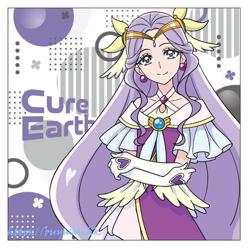 光之美少女系列 「風鈴明日美 地球天使」Cushion套 Cure Earth Cushion Cover【Pretty Cure Series】