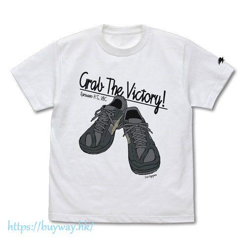 排球少年!! (大碼)「影山飛雄」球鞋 白色 T-Shirt Tobio Kageyama Shoes T-Shirt /WHITE-L【Haikyu!!】