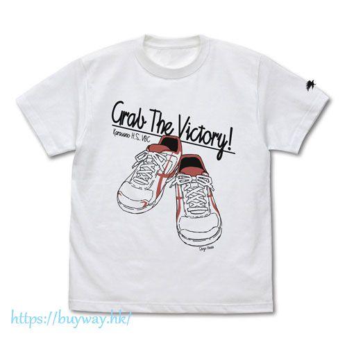 排球少年!! (大碼)「日向翔陽」球鞋 白色 T-Shirt Shoyo Hinata Shoes T-Shirt /WHITE-L【Haikyu!!】