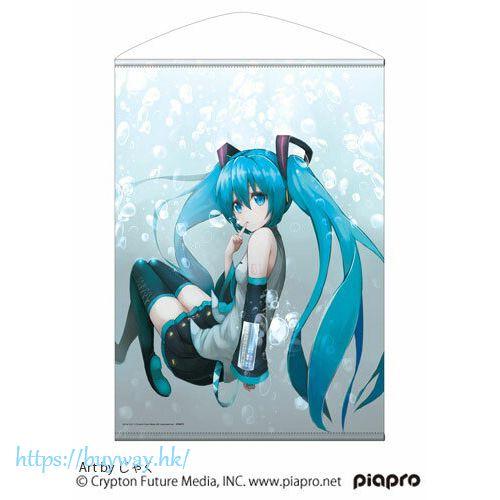 VOCALOID系列 「初音未來」じゃく氏插圖 B2 掛布 Hatsune Miku B2 Wall Scroll Jaku Ver.【VOCALOID Series】