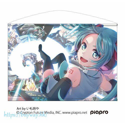 VOCALOID系列 「初音未來」いも坊や氏插圖 B2 掛布 Hatsune Miku Horizontal B2 Wall Scroll Imobouya Ver.【VOCALOID Series】