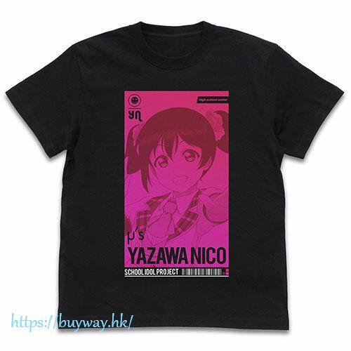 LoveLive! 明星學生妹 (加大)「矢澤妮可」ALL STARS Ver. 黑色 T-Shirt Nico Yazawa T-Shirt ALL STARS Ver./BLACK-XL【Love Live! School Idol Project】