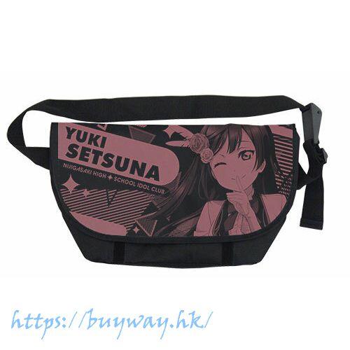 LoveLive! 虹咲學園校園偶像同好會 「優木雪菜」黑色 郵差袋 Setsuna Yuuki Messenger Bag /BLACK【Love Live! Nijigasaki Academy School Idol Club】