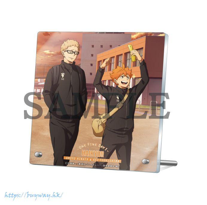 排球少年!! 「日向翔陽 + 月島螢」-One Fine Day!- 亞克力板 Acrylic Stand -One Fine Day!- Hinata Shoyo & Tsukishima【Haikyu!!】