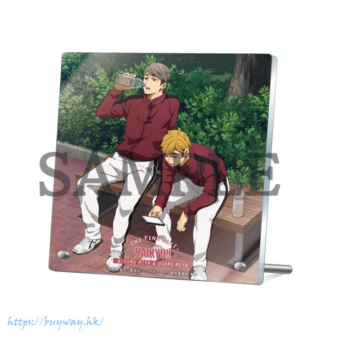 排球少年!! 「宮侑 + 宮治」-One Fine Day!- 亞克力板 Acrylic Stand -One Fine Day!- Miya Atsumu & Miya Osamu【Haikyu!!】