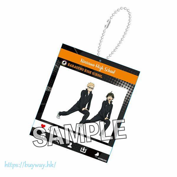 排球少年!! 「月島螢 + 山口忠」熱身 Ver. SNS風格 匙扣 Warming Up!! SNS-style Acrylic Key Chain Tsukishima Kei & Yamaguchi Tadashi【Haikyu!!】