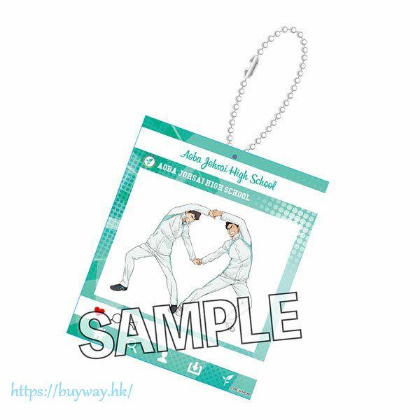 排球少年!! 「及川徹 + 岩泉一」熱身 Ver. SNS風格 匙扣 Warming Up!! SNS-style Acrylic Key Chain Oikawa Toru & Iwaizumi Hajime【Haikyu!!】