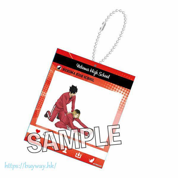 排球少年!! 「黑尾鐵朗 + 孤爪研磨」熱身 Ver. SNS風格 匙扣 Warming Up!! SNS-style Acrylic Key Chain Kuroo Tetsuro & Kozume Kenma【Haikyu!!】