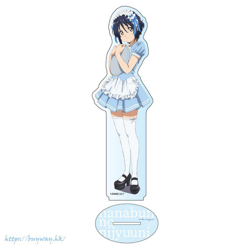 22/7 「瀧川美羽」diner Ver. 亞克力企牌 TV Anime Deka Acrylic Stand Myu Takikawa dinerver.【Nanabun no Nijuuni】