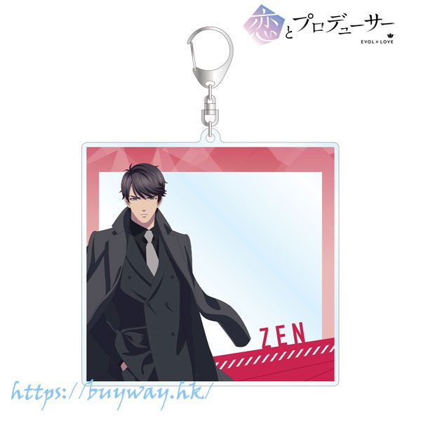 戀與製作人 「李澤言」BIG 亞克力匙扣 TV Anime Zen Photo Frame Style BIG Acrylic Keychain【Mr Love: Queen's Choice】