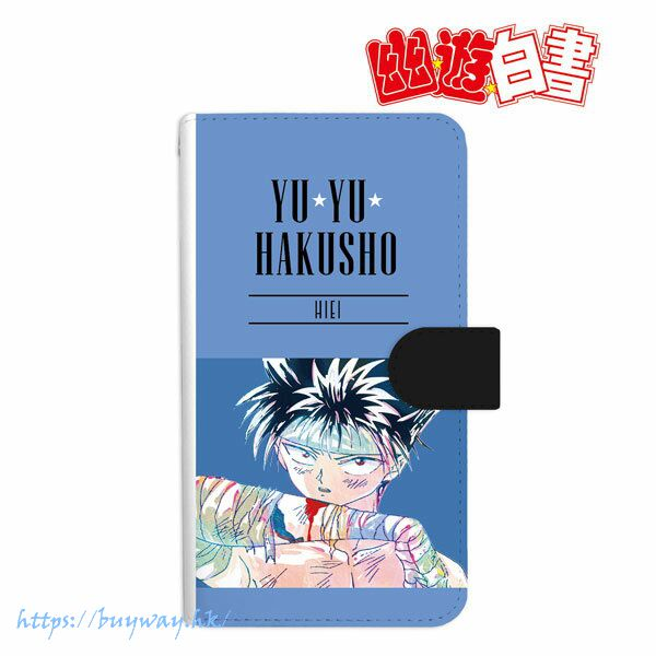 幽遊白書 「飛影」Ani-Art 162mm 筆記本型手機套 Hiei Ani-Art Book-style Smartphone Case (L Size)【YuYu Hakusho】