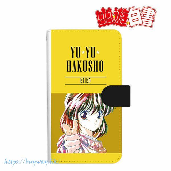 幽遊白書 「雪村螢子」Ani-Art 162mm 筆記本型手機套 Keiko Yukimura Ani-Art Book-style Smartphone Case (L Size)【YuYu Hakusho】