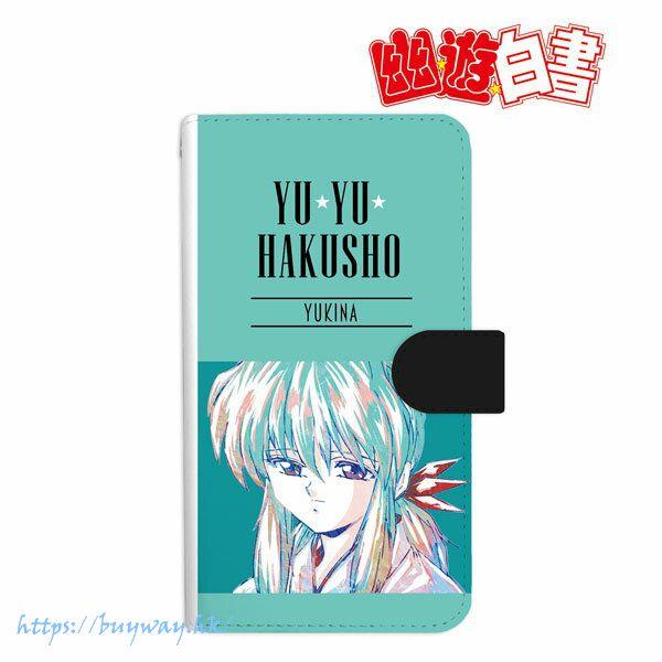 幽遊白書 「雪菜」Ani-Art 162mm 筆記本型手機套 Yukina Ani-Art Book-style Smartphone Case (L Size)【YuYu Hakusho】