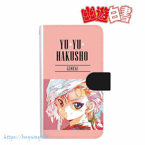 幽遊白書 「幻海」Ani-Art 142mm 筆記本型手機套 Genkai Ani-Art Book-style Smartphone Case (M Size)【YuYu Hakusho】