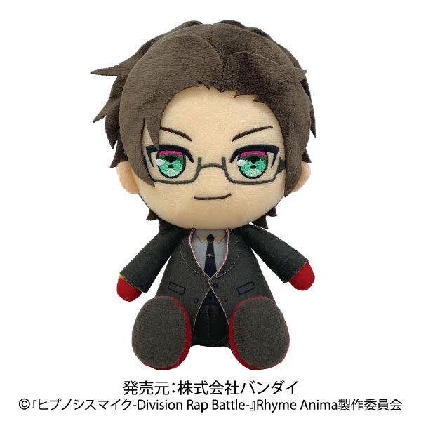 催眠麥克風 -Division Rap Battle- 「入間銃兎」坐著公仔 Division Plush Iruma Jyuto【Hypnosismic】