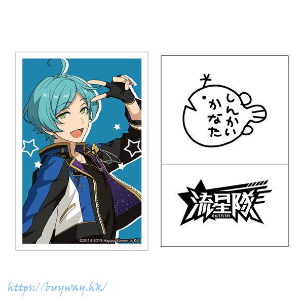 合奏明星 「深海奏汰」簽名貼紙 Live Body Sticker 2. Kanata Shinkai【Ensemble Stars!】