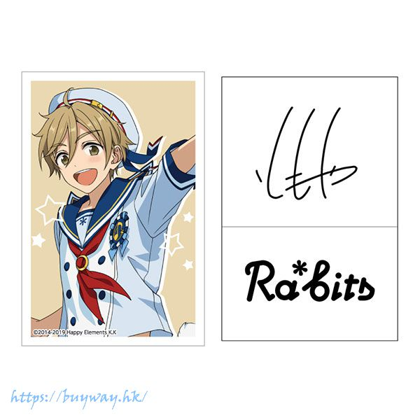 合奏明星 「真白友也」簽名貼紙 Live Body Sticker 14. Tomoya Mashiro【Ensemble Stars!】