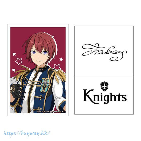 合奏明星 「朱櫻司」簽名貼紙 Live Body Sticker 19. Tsukasa Suou【Ensemble Stars!】