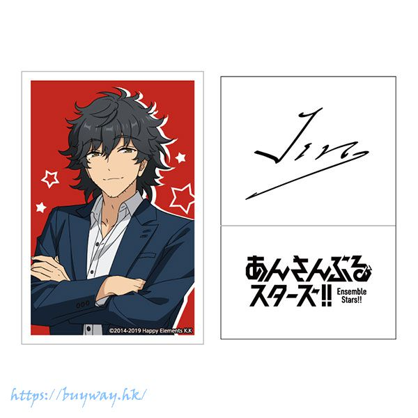 合奏明星 「佐賀美陣」簽名貼紙 Live Body Sticker 24. Jin Sagami【Ensemble Stars!】