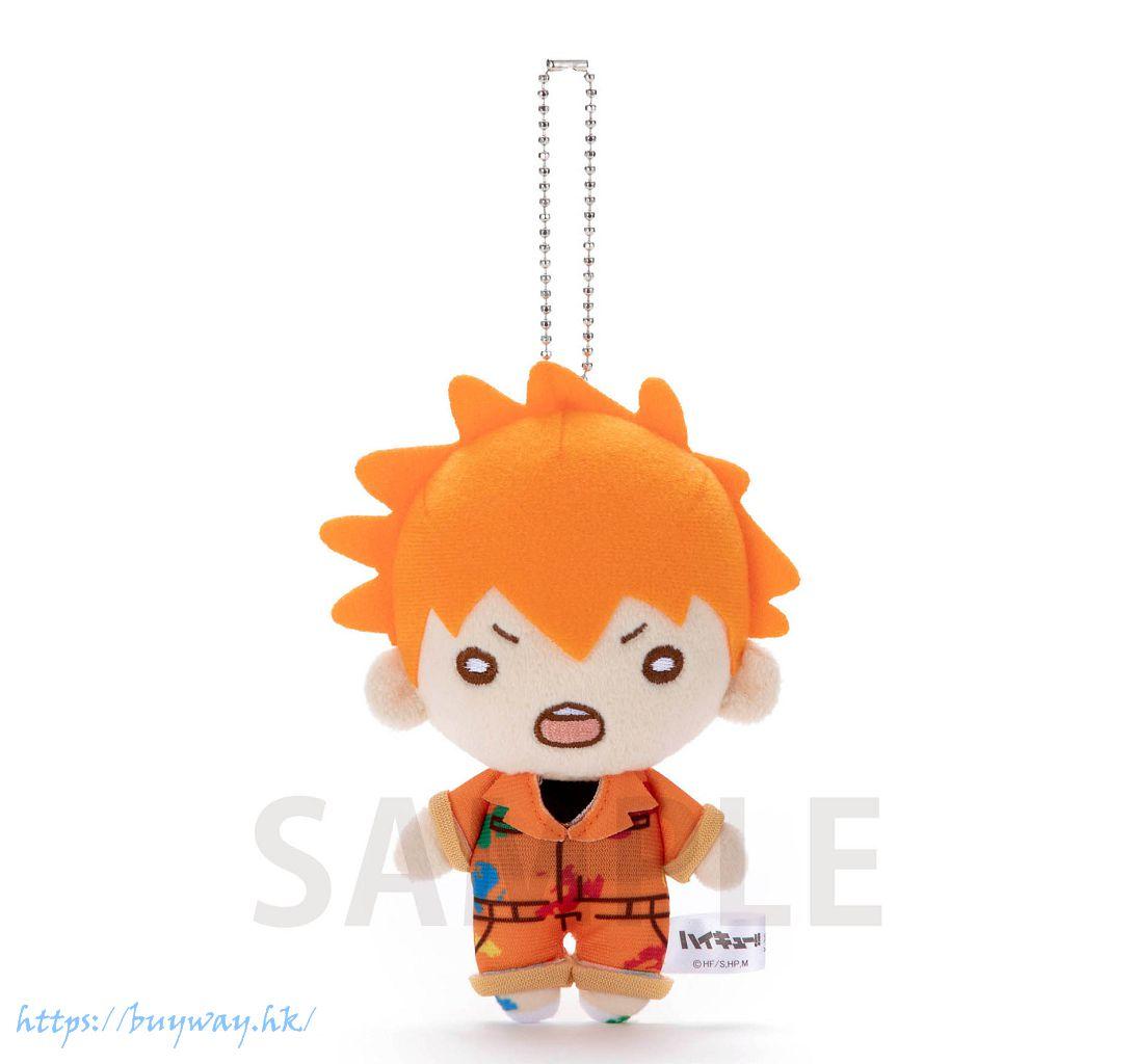 排球少年!! 「日向翔陽」油漆服 豆豆眼 公仔掛飾 Nitotan Paint Suit Plush with Ball Chain Hinata【Haikyu!!】