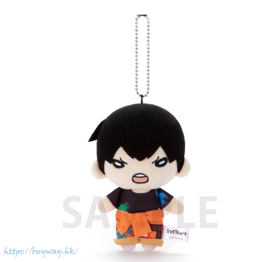 排球少年!! 「影山飛雄」油漆服 豆豆眼 公仔掛飾 Nitotan Paint Suit Plush with Ball Chain Kageyama【Haikyu!!】