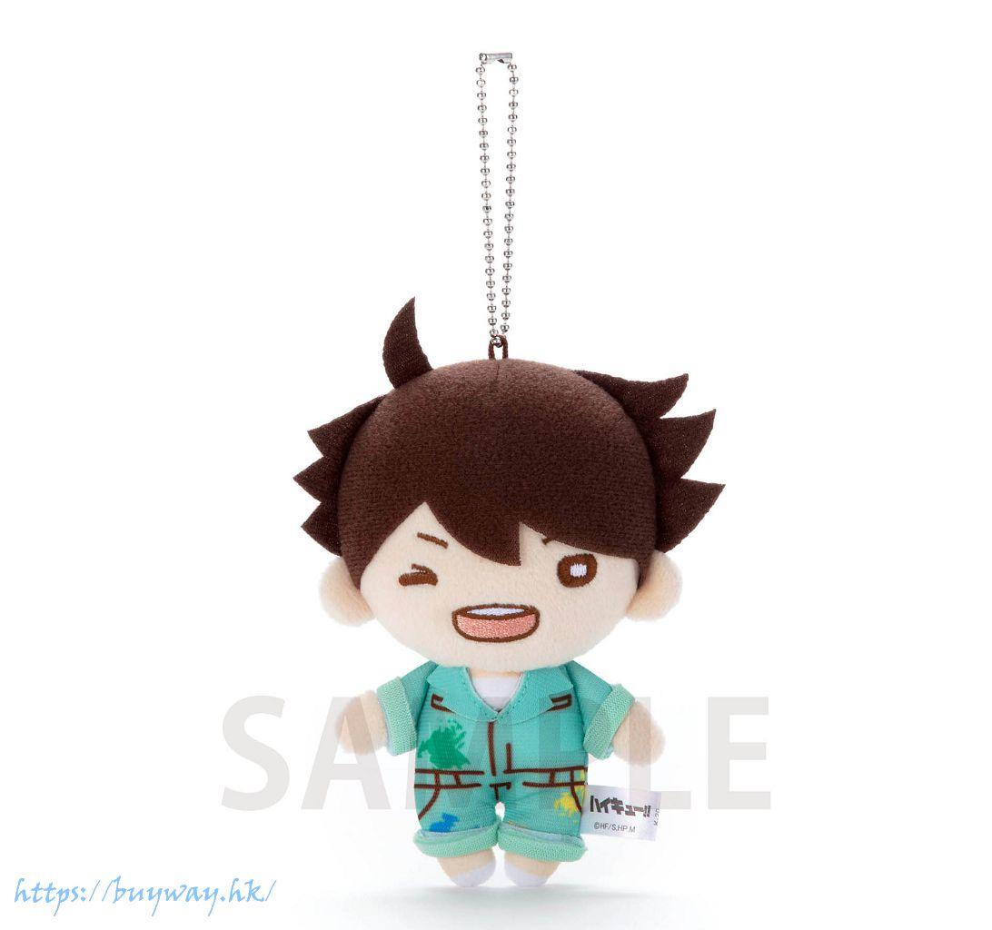 排球少年!! 「及川徹」油漆服 豆豆眼 公仔掛飾 Nitotan Paint Suit Plush with Ball Chain Oikawa【Haikyu!!】
