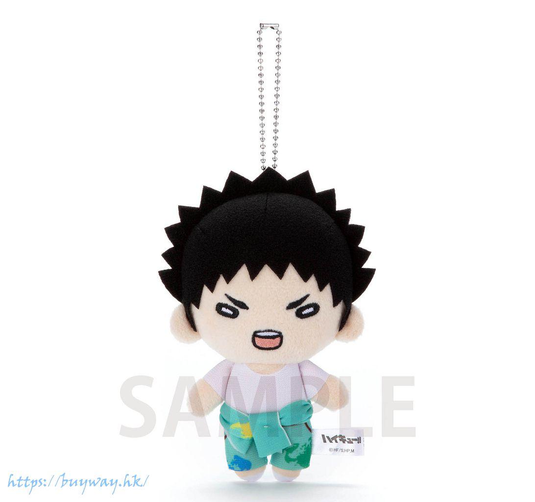 排球少年!! 「岩泉一」油漆服 豆豆眼 公仔掛飾 Nitotan Paint Suit Plush with Ball Chain Iwaizumi【Haikyu!!】