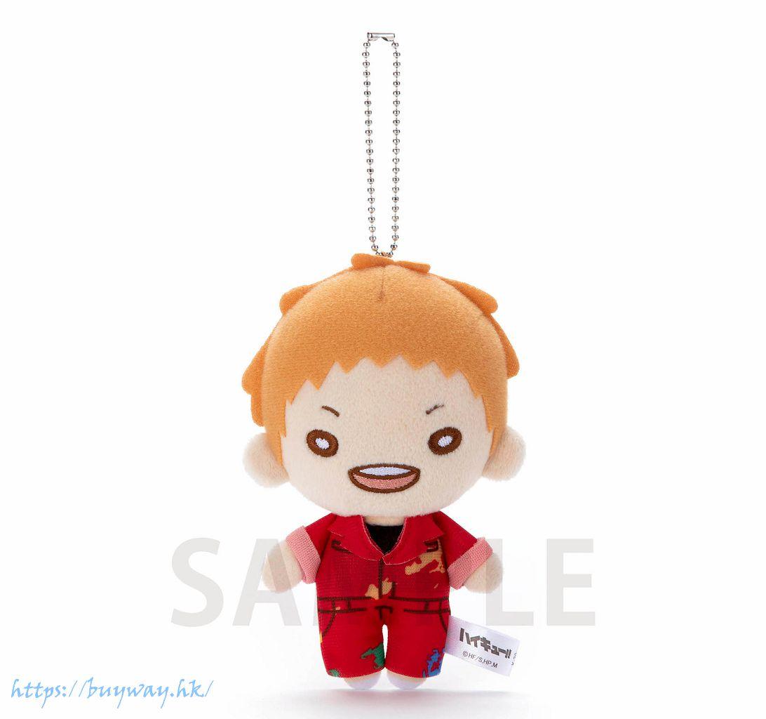 排球少年!! 「夜久衛輔」油漆服 豆豆眼 公仔掛飾 Nitotan Paint Suit Plush with Ball Chain Yaku【Haikyu!!】