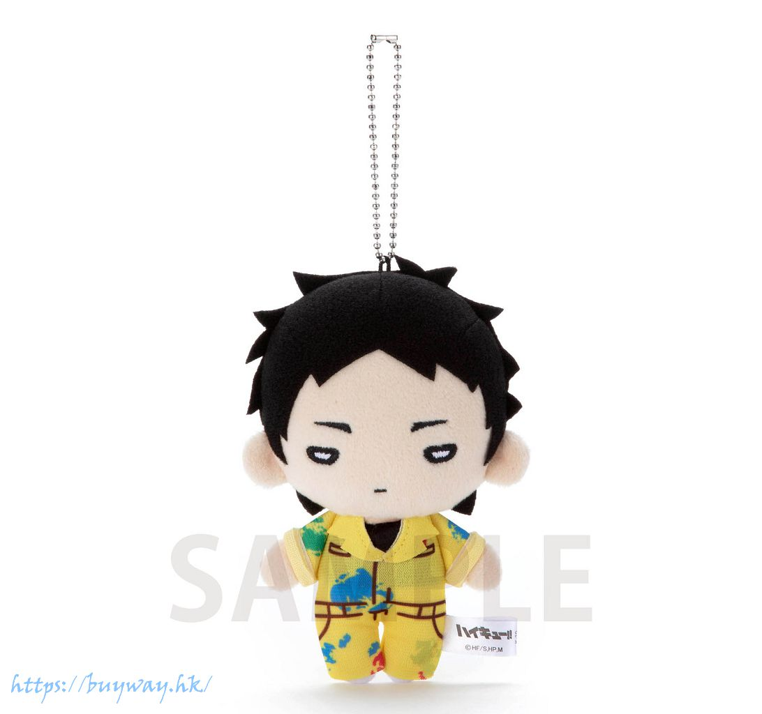 排球少年!! 「赤葦京治」油漆服 豆豆眼 公仔掛飾 Nitotan Paint Suit Plush with Ball Chain Akaashi【Haikyu!!】